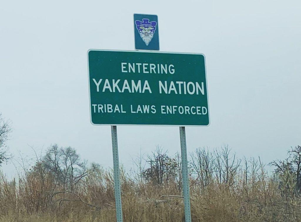 Entering Yakima Valley